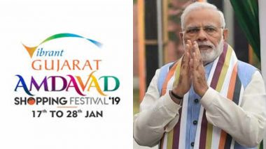 Amdavad Shopping Festival 2019: PM Narendra Modi to Inaugurate First-of-its-Kind Festival Tomorrow